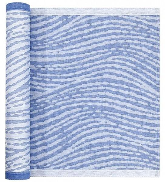 Sitzunterlage MAININKI weiss-blau