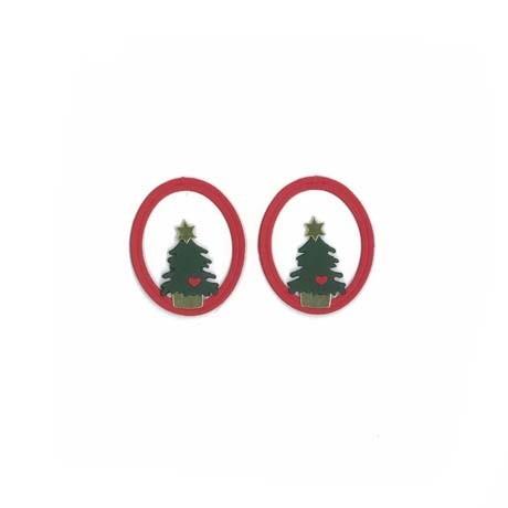 Fensterbilder / Anhänger Weihnachtsbäume