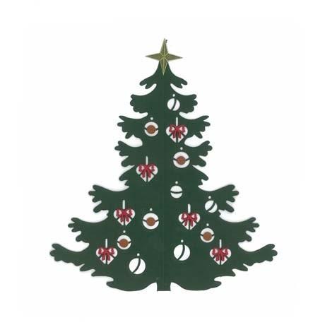 Fensterbild Großer Weihnachtsbaum