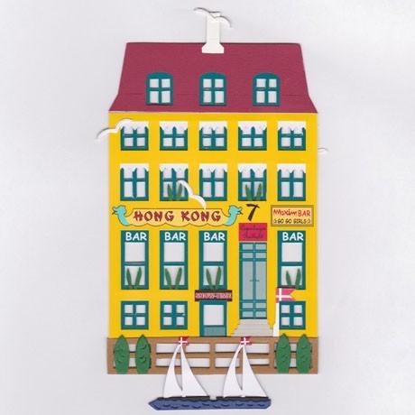 Fensterbild HONG KONG HAUS, Nyhavn, København