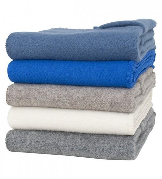 Schal mit Taschen UNI blau