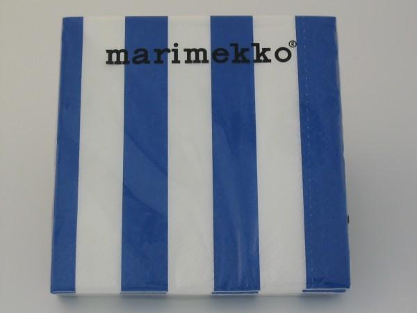 Papierservietten NIMIKKO blau
