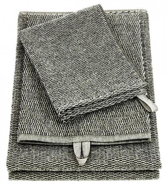 Handtuch / Sitzunterlage MERI schwarz-weiss