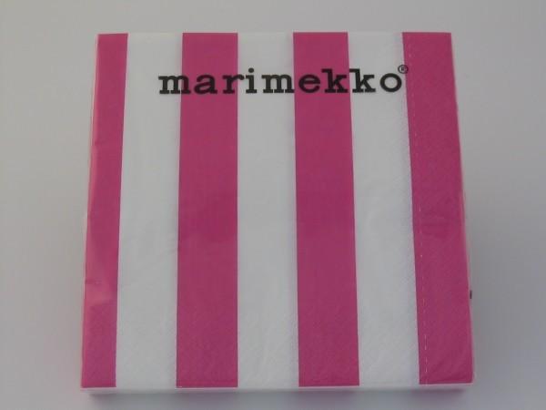 Papierservietten NIMIKKO pink
