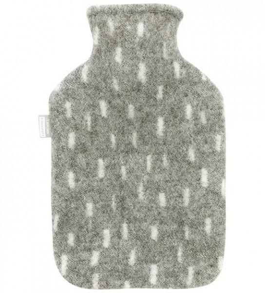 Wärmflasche PYRY grau-weiss