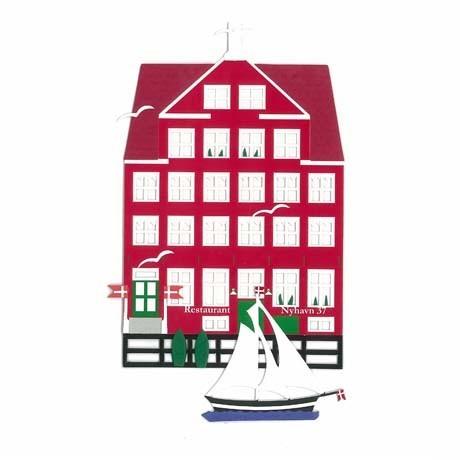 Fensterbild NYHAVN 37, København