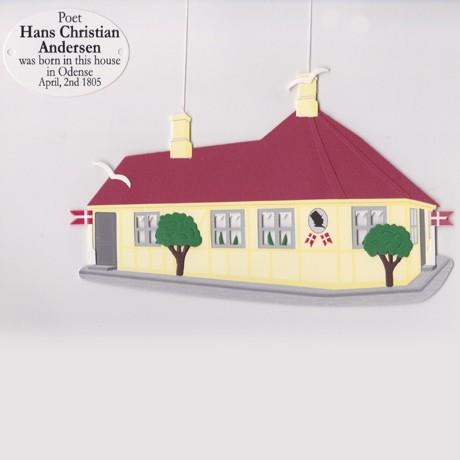 Fensterbild HANS CHRISTIAN ANDERSEN - GEBURTSHAUS