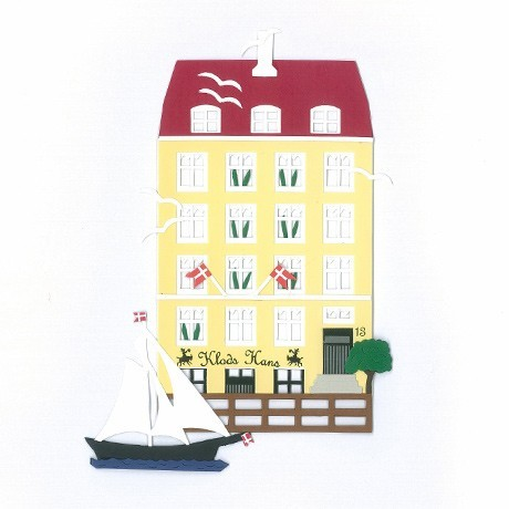 Fensterbild KLODS HANS, Nyhavn, København