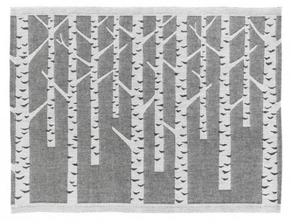 Sitzunterlage KOIVU / BIRKEN schwarz-weiss